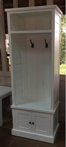 Artisan's Craft Hall Tree Base - Dakota Oak