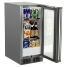"""15"""" Outdoor Refrigerator - Marvel Refrigeration - Solid Stainless Steel Door with Lock - Right Hinge Product Image"""