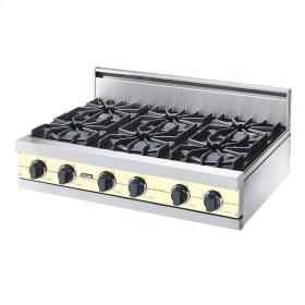 "Lemonade 36"" Open Burner Rangetop - VGRT (36"" wide, six burners)"