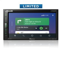 "Multimedia DVD Receiver with 6.8"" WVGA Display, Apple CarPlay , Android Auto , Built-in Bluetooth ® , SiriusXM-Ready , iDataLink ® Maestro and Remote Control Included"