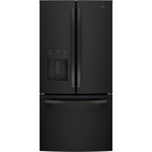 GEGE(R) ENERGY STAR(R) 17.5 Cu. Ft. Counter-Depth French-Door Refrigerator