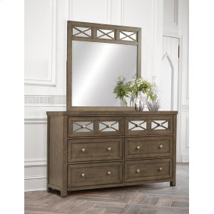 Hillsdale FurnitureRandall Dresser & Mirror