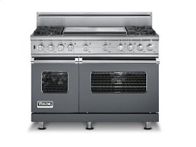 "48"" Custom Sealed Burner Dual Fuel Range, Propane Gas, No Brass Accent"