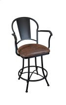 Cleveland B514H26AS Swivel Back and Arms Bar Stool Product Image