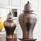 Japan Ginger Jar-Bronze-Lg Product Image