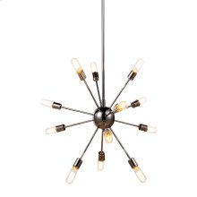 The Cork Collection is contemporary chic for your living space. Available in pendant or flush mount in your choice of polished nickel or vintage steel.