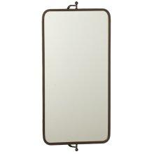 Rectangle Wall Mirror on Swivel Bracket