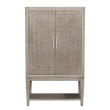 Contemporary Door Chest on Legs