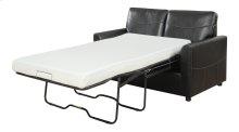Emerald Home Slumber Twin Sleeper W/gel Foam Mattress Black U3215-33-16