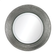 LA QUINTA MINI MIRROR IN HAMMERED METAL FRAME