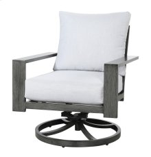 Swivel Rocker Lounge Chair-gray #7235 (1/ctn)