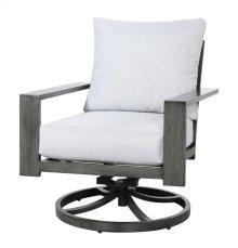 Swivel Rocker Lounge Chair-gray #7235 (1/ctn)