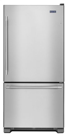30-Inch Wide Bottom Mount Refrigerator - 19 Cu. Ft.
