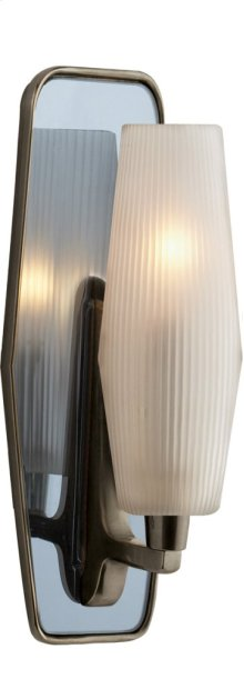 Visual Comfort BBL2034BZ-FG Barbara Barry Lighten Up 1 Light 5 inch Bronze Bath Wall Light