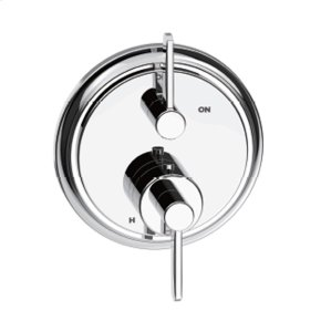 Polished Chrome Wallace (Series 15) Dual Control Thermostatic with Volume Control Valve Trim