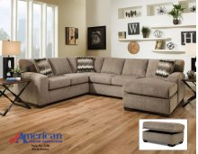 5250 - Perth Pewter 2-Piece Sectional