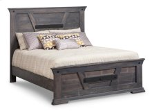 Algoma Double Bed with 22'' Low Footboard