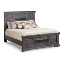 Algoma King Bed with 22'' Low Footboard