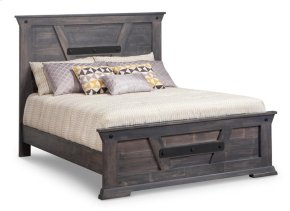 Algoma Single Bed with 22'' Low Footboard