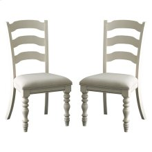 Pine Island Ladder Back Chair - Old White