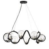 Curlicue 8-Light Pendant
