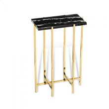 Laurent Rectangular Drink Table - Black
