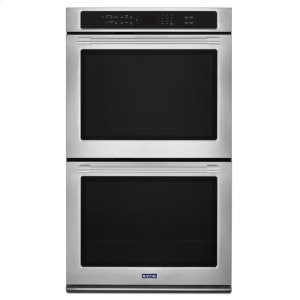 27-Inch Wide Double Wall Oven With True Convection - 8.6 Cu. Ft. -