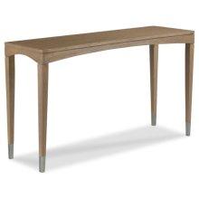 Crescent Sofa Table