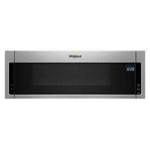 Wml75011hz Whirlpool 1 1 Cu Ft Low Profile Microwave