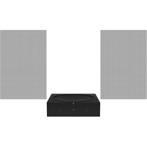 SonosBlack- Amp and In-Wall Set