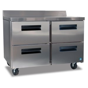 HoshizakiRefrigerator, Two Section Worktop with Drawers