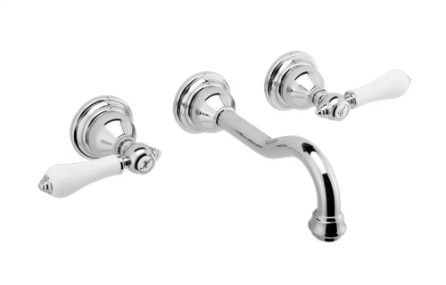 Nantucket Wall-Mounted Lavatory Faucet