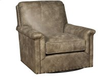Michelle Leather Swivel Chair, Michelle Leather Ottoman