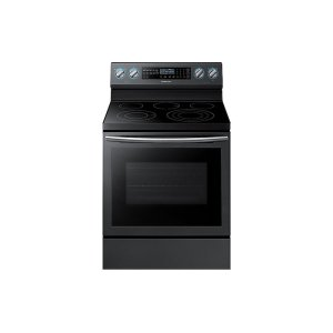 Samsung Appliances5.9 cu. ft. Freestanding Electric Range with True Convection & Steam Assist in Black Stainless Steel