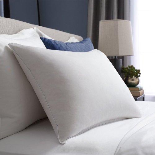 Queen White Goose Down Soft Pillow Queen