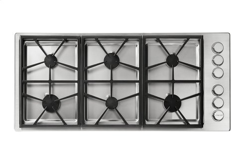 """Heritage 46"""" Professional Gas Cooktop, Natural Gas/High Altitude"""
