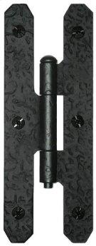 H Hinge - Rough Iron Product Image