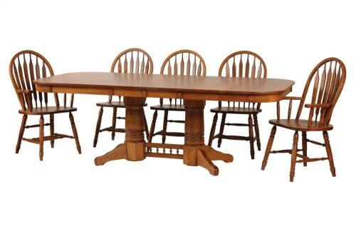 "42/64-2-12"" Rectangular Trestle Table"