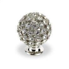 Round Small Bright Chrome Swarovski Crystals