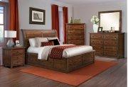 Dawson Creek Sleigh Storage Bedroom Product Image