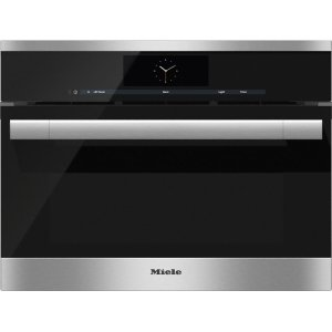 MieleDGC 6705-1 Steam oven with full-fledged oven function and XL cavity - the Miele all-rounder with mains water connection for discerning cooks.