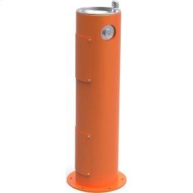 Elkay Outdoor Fountain Pedestal Non-Filtered, Non-Refrigerated Orange