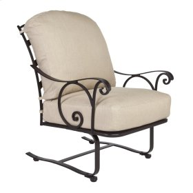 Spring Based Lounge Chair