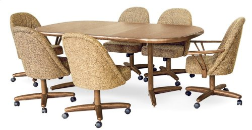 Table Top: Square Round (chestnut)