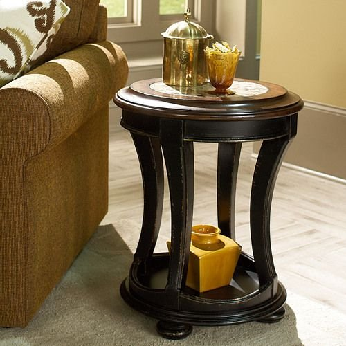 Dorset Round End Table