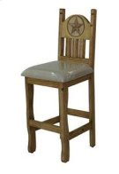 """24"""" Barstool W/Cushion Seat and Star Product Image"""