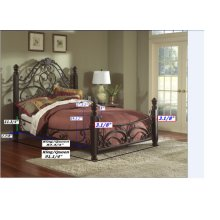 1195K  King Complete Bed
