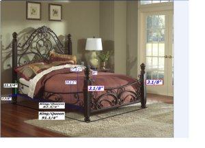 1195K  King Complete Bed
