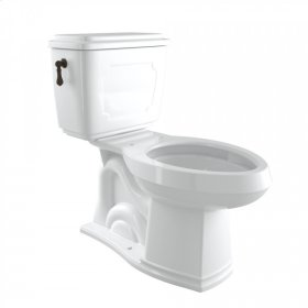 Tuscan Brass Perrin & Rowe Victorian 1.6 GPF Elongated Close Coupled Water Closet/Toilet