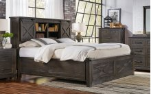 QUEEN STORAGE BED & FOOTBOARD BENCH